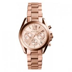 Michael Kors Bradshaw reloj de mujer en acero rosa