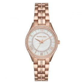 Michael Kors Lauryn reloj de mujer en acero rosa