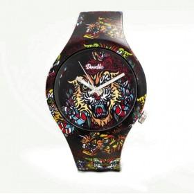 Doodle Oriental Tiger reloj de hombre