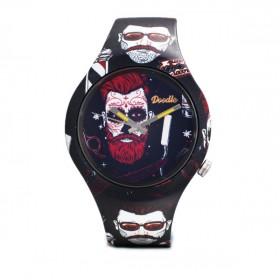 Doodle Beardster reloj de hombre