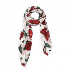 Doodle Vintage Cherry fulard