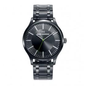 Mark Maddox Canal reloj de caballero en acero