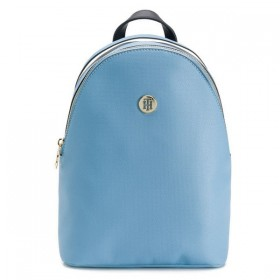 Tommy Hilfiger Effortless Saffiano mochila azul