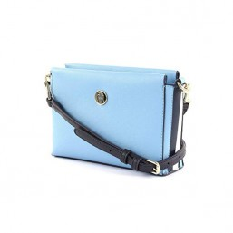 Tommy Hilfiger Effortless Saffiano bolso azul