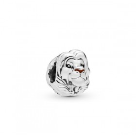 "Pandora Disney ""Simb"" charm en plata"