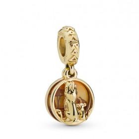 """Pandora Disney """"Simba y Mufasa"""" charm colgante"""