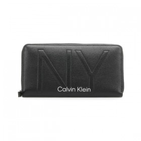 Calvin Klein NY Shaped cartera de mano negra