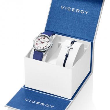 Viceroy Next pack regalo reloj y pulsera con cruz.