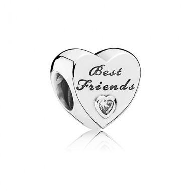 Charm corazón Best Friends