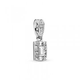 Pandora colgante Hielo Luminoso en plata
