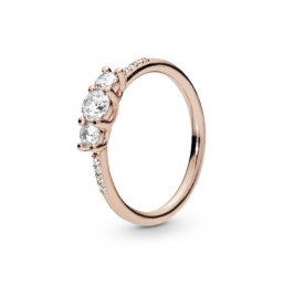 Pandora Rose anillo Elegancia Brillante