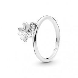 Pandora anillo Trébol Colgante