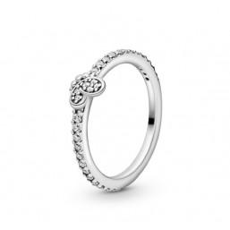 Pandora anillo Mariposas Deslumbrantes en plata