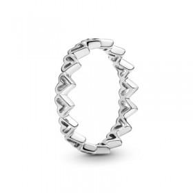 Pandora anillo Corazones Abiertos en plata