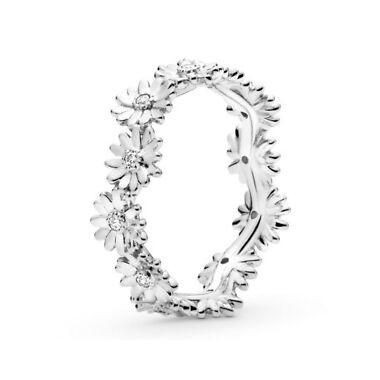 Pandora anillo Corona de Margaritas en plata
