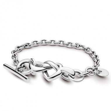 Pandora pulsera Corazones Anudados en plata