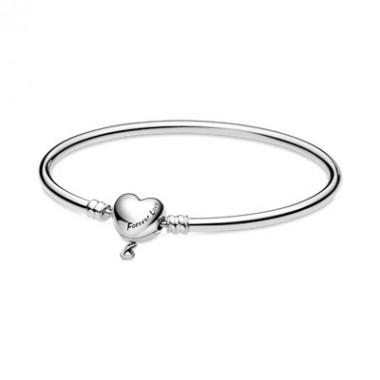 Pandora pulsera rígida infinito Moments en plata