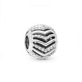 Pandora charm Deseo Estiloso en plata