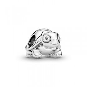 Pandora charm Tortuga con Ojos Brillantes