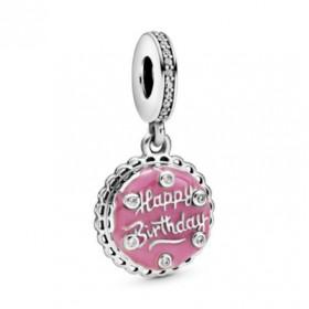 Pandora charm colgante Tarta de Cumpleaños