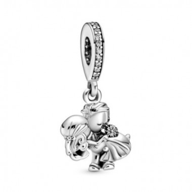 Pandora charm colgante Recién Casados