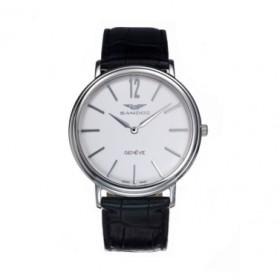 Sandoz reloj suizo hombre en piel