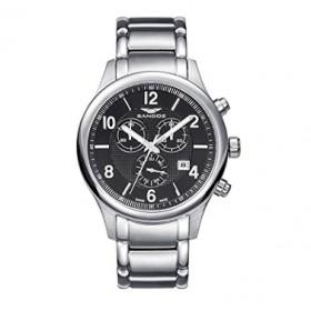Sandoz reloj suizo hombre en acero 81371-55